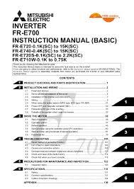 fr e700 instruction manual basic