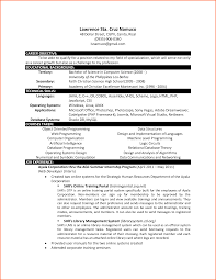 Best Career Objective In Resume For Freshers by Plain Resume For Be Freshers Machinist With Top Personal
