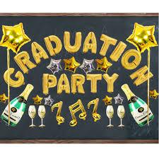 grad party supplies foil balloon kit happy graduate party supply graduation ceremony