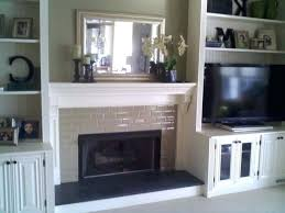 White Electric Fireplace With Bookcase Fireplace Mantel With Shelf Shelves Built Bookshelves Electric