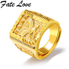 aliexpress buy new arrival fashion rings for men fate new arrival eagle pattern copper gold rings great