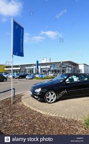 mercedes uk dealers mercedes car dealer in swindon uk stock photo royalty free