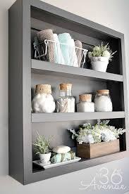 Bathroom Shelves Pinterest Magnificent Decorative Bathroom Shelves Ideas On Shelving Home