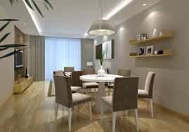 dining and living room interior design for 60 square meters suite