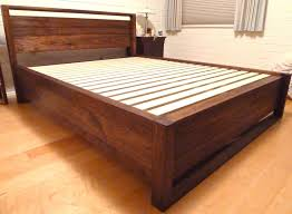 Types Of Bed Frames by Storage Bed Frame Queen Size 3 Types Of Storage Bed Frame