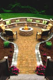 Firepit Garden Backyard Pit Ideas And Designs For Your Yard Deck Or Patio