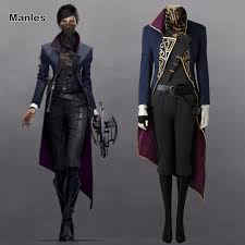 Emily Halloween Costume Aliexpress Buy Dishonored 2 Costume Emily Kaldwin Cosplay