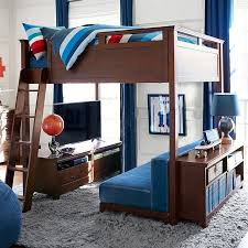 Loveseat Convertible Bed Hampton Convertible Loft Bed Pbteen