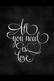 all you need is love is all you need art print beatles