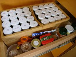 Kitchen Cabinet Spice Rack Organizer Organizer Great For Organizing Jars And Spices With Spice Drawer