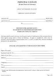 Power Of Attorney Form Pennsylvania by Pa Bulletin Doc No 16 1477