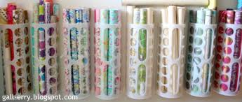 ways to store wrapping paper day 30 organizing with plastic bag holder and other stuff