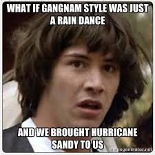 Parody Meme - missinfo tv hurricane sandy gangnam meme parody