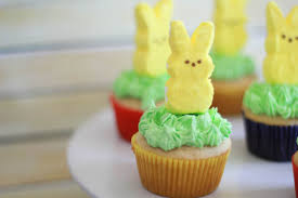 Decorate Easter Bunny Cupcakes by Peeps Bunny Cupcakes Simply Being Mommy