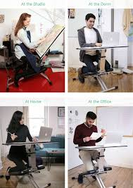 all in one desk and chair be more productive and maximize space with this comfortable