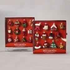 club pack of 72 miniature treasures glass