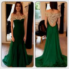 green dress forest green lace prom dress naf dresses
