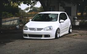 volkswagen white car vw volkswagen golf mk5 white tuning car front 7036574
