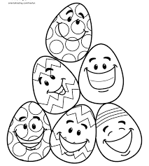 Easter Decorations To Print And Color by Free Printable Easter Coloring Pages For The Kids