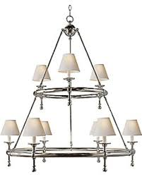 Iron Ring Chandelier Deals On Classic Two Tier Ring Chandelier By Visual Comfort