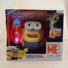 free shipping despicable me 2 minions toys led light ornament