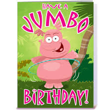 have a jumbo birthday greeting card by stiktoonz greetings cards