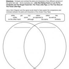 compare and contrast worksheets have fun teaching