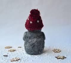 needle felted baby penguin u2013 christmas ornament 2 koko u0026 haru