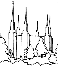 temple coloring page salt lake temple coloring page coloring home