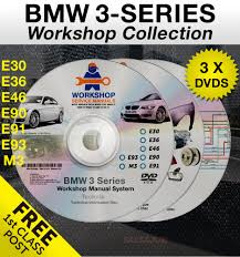 bmw 3 series workshop service manual e30 e36 e46 e90 e91 e92 e93