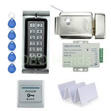 k2 standalone em125khz rfid keypad access control diy kit set for