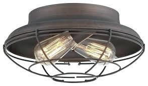 industrial flush mount light iron ceiling lights mission style glass semi flush ceiling light