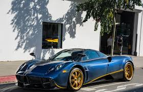pagani zonda gold the one off pagani huayra 730s will have you whispering u0027i want one u0027