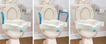 siège toilette surélevé siège de toilette surélevé 3 en 1 aquasense soins à domicile