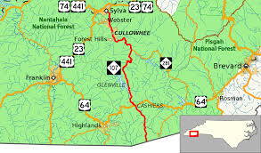 Map Of Tennessee And North Carolina by North Carolina Highway 107 Wikipedia