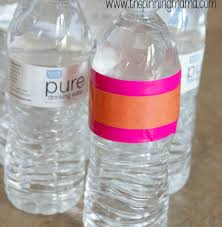Decorate Water Bottle 8 Easy And Awesome Diy Party Decorations