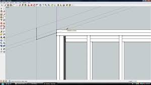 google sketchup building a small garage part 1 youtube