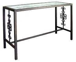 glass top sofa table glass top sofa table amazing wrought iron sofa table and glass top