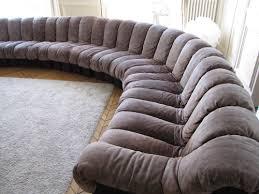 sofa braun ds600 modular sofa 26 elements ed de sede light braun suede