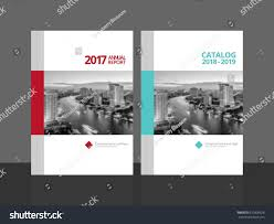 cover design annual report business catalog stock vector 610800626