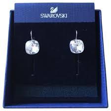 sheena pierced earrings swarovski silver sheena pierced earrings tradesy