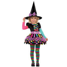 delux halloween costumes deluxe girls toddler miss matched witch halloween fancy dress
