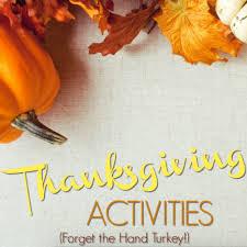 thanksgiving activities minds in bloom