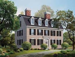 federal style house simplicity in a federal style home plan 81142w architectural