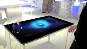 samsung sur40 touch table youtube