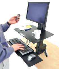 desk adjustable desks for standing and sitting canada height