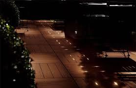 illuminazione a pavimento pavimentazioni con posa a secco per esterno kronostecnica kt
