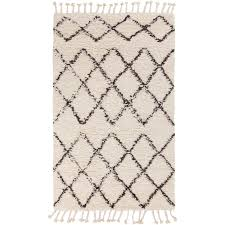 wool rug surya sherpa taupe and ivory wool rug