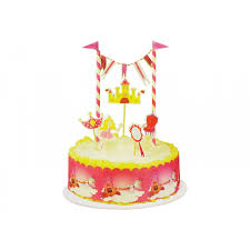 princess cake decor kit