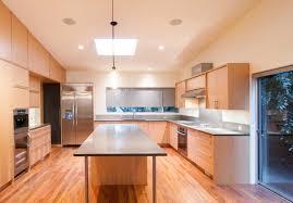 nature wood kitchen cabinet simple style cherry wood kitchen